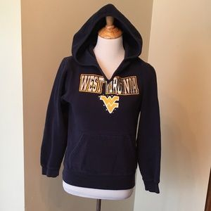 Size XL (14/16) youth WVU Hoodie